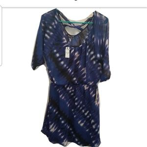 NWT Blue Dress by EXPRESS sz Medium